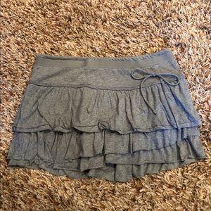 American Eagle - gray mini skirt size medium